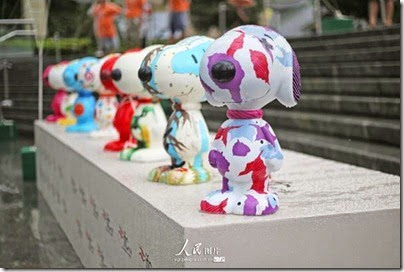 Snoopy at Pearl Square , IFC Mall, LuJiaZui, Shanghai 史努比。上海 14