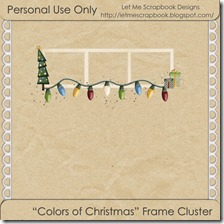 Colors of Christmas freebie preview