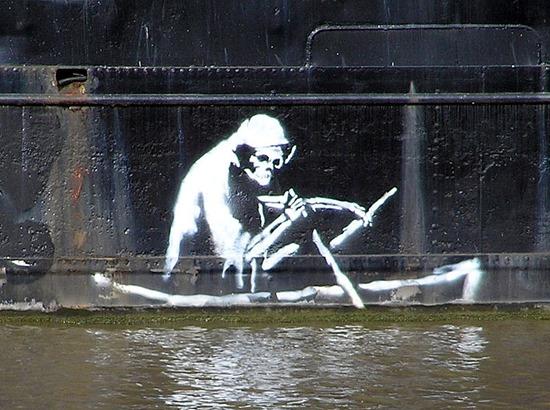 Banksy thekla arp