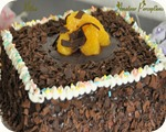 Chocolate Orange Cloud Gateau 15
