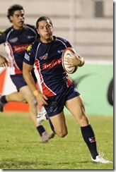 2012-Philippines v Chinese Taipei-Blowing off steam PHI Volcanoes winger Luke Matthews scored 2 tries in the HSBC A5N D1 win over Ch. Taipei