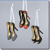 Kurt Adler Shoe Ornaments
