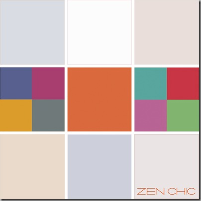 Color choice modern Quilter ZEN CHIC