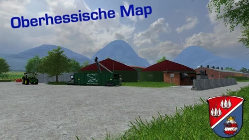 Farming simulator 2013 - Oberhessische Map v 0.95