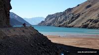 Bergsee auf chilenischer Seite