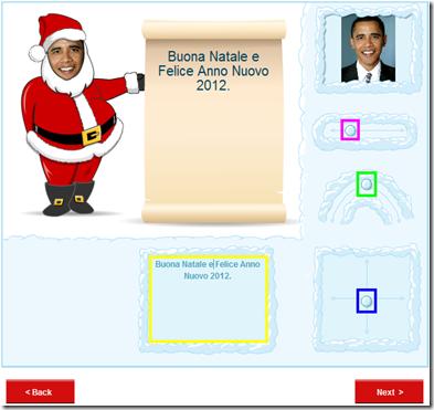 Santa Yourself Passo 2 regolazione viso Babbo Natale