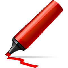 marker pen red