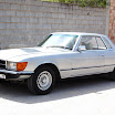 Mercedes Benz 350 SLC