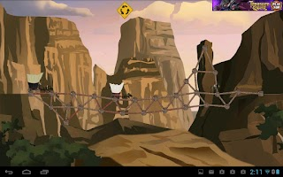 Screenshot of Build Bridges to the West