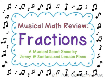 fraction musical math