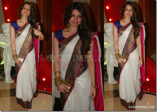 White_Bollywood_Saree
