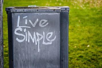 hidup sederhana