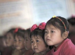 Reuters N Korea children floods 18Nov11 480