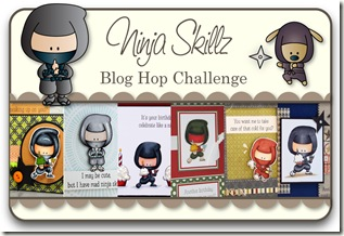 Blog Hop Graphic - Ninja Skillz