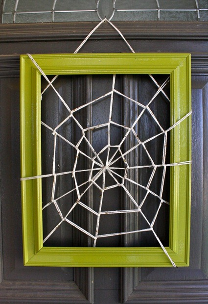 spider web frame tutorial