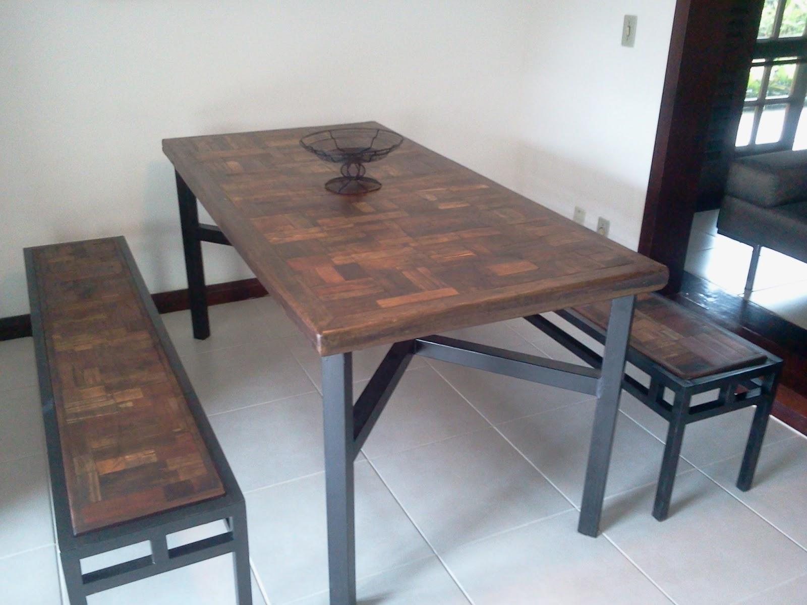 Patchwork em madeira reciclada IVAN ARTESÃO MÓVEIS #735B50 1600x1200