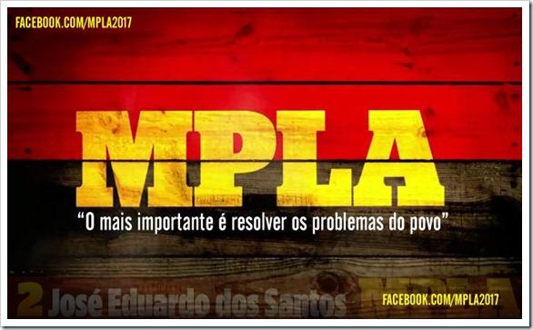 MPLA parceiro certo da juventude angolana
