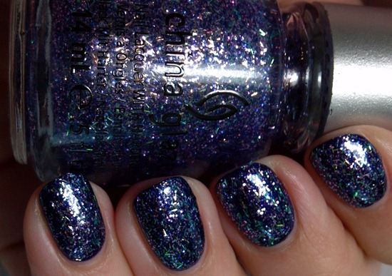 China Glaze Marry A Millionaire (over Julep Maggie)
