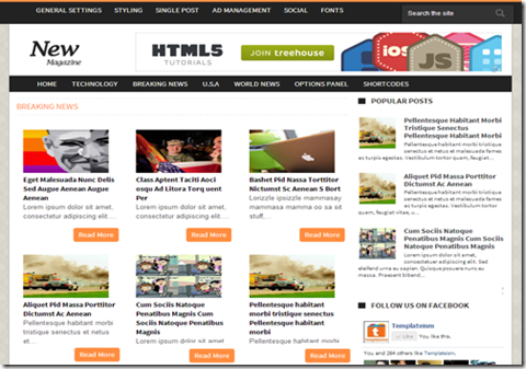News-Magazine-Blogger-Template