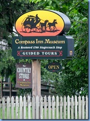 3457 Pennsylvania - Laughlintown, PA - Lincoln Highway (US-30) - 1799 Compass Inn Museum (stagecoach stop)