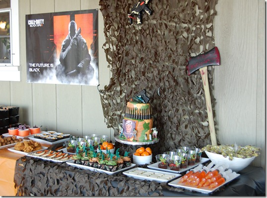 Call of Duty Black Ops II Party