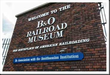 Entrance to the B&O Railroad Museum