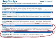 XXIX FESTIVAL  DE TEATRO GRECOLATINO 2012 - SEGÓBRIGA