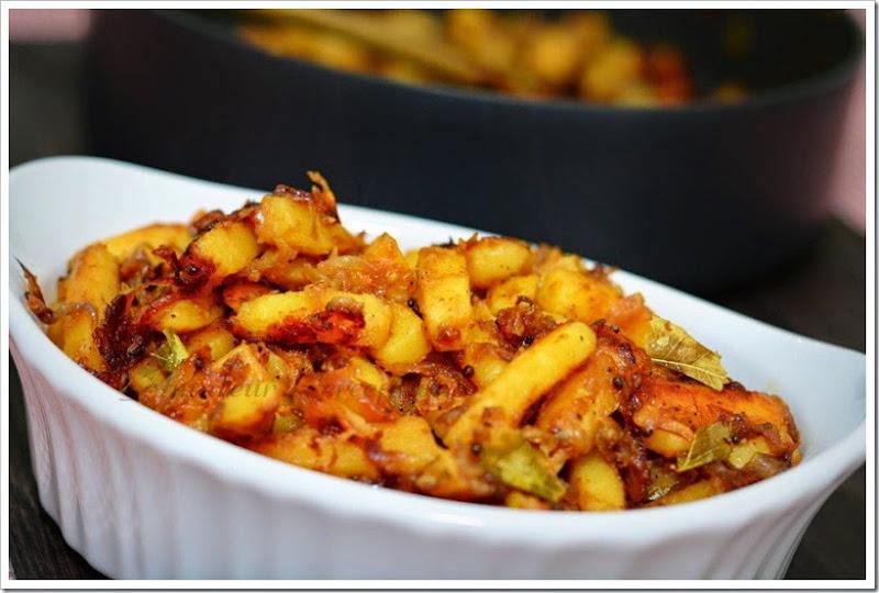 Potato Mezhukkupuratti 3