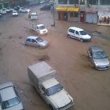 Le forti piogge: diverse strade bloccate ad Algeri