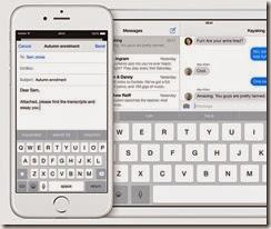 Apple iOS 8 New Predictive Keyboard