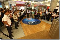 personas participaron en el acto de lanzamiento de la cuarta versión del programa educativo ¡Yo reciclo