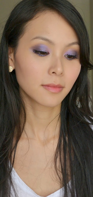 Mary Kay Sapphire Noir Eye Color Palette Makeup Look (4)