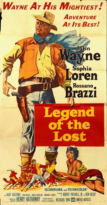 postere vechi - John Wayne-Sophia Loren