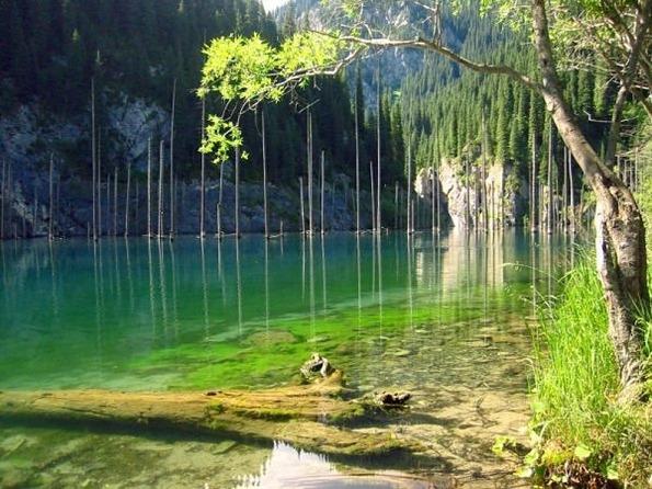 Lake Kaindy Kazakhstan