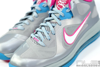 lebron9 low fireberry 12 web white The Showcase: Nike LeBron 9 Low WBF London Fireberry