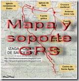 Mapa y soporte GPS -Enebro de Legardeta