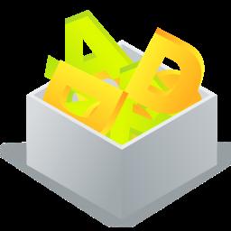 fonts box