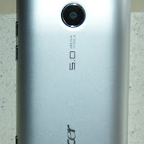 The back looks nice and clean with the 5MP camera towards the top and the speaker towards the bottom