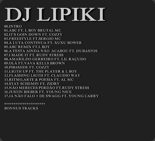 00-Dj Lipiki  Mixtape Captura[atraz]