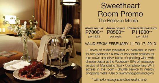 Bellevue Hotel Valentines