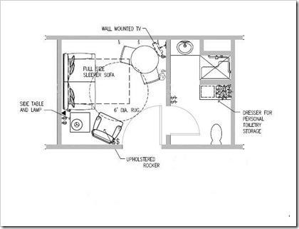 arrangement of furniture