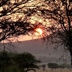 Sonnenaufgang am Dunia Camp © Foto: Angelika Krüger | Outback Africa Erlebnisreisen
