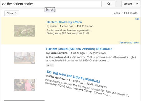 Do the Harlem Shake' Easter Egg