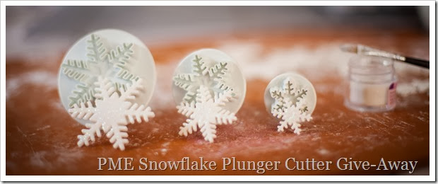 Fondant plunger cutter give-away