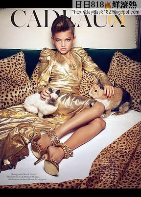 法 10歲女模 布蘭朵(Thylane Lena-Rose Blondeau)