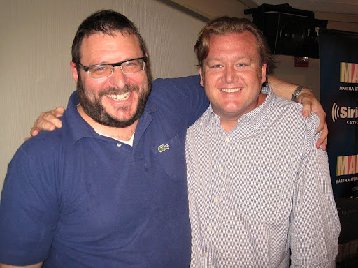 Time magazine columnist, Josh Ozersky with Chef White.