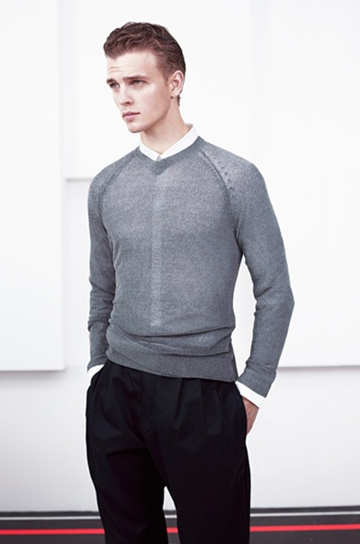 Benjamin Eidem @ Request by Willy Vanderperre for Adidas SLVR S/S 2012.