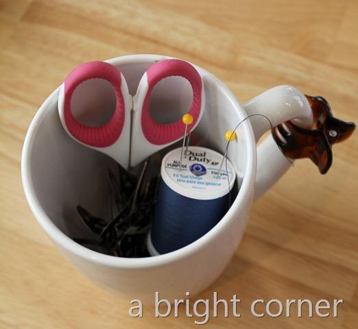 pincushion mug