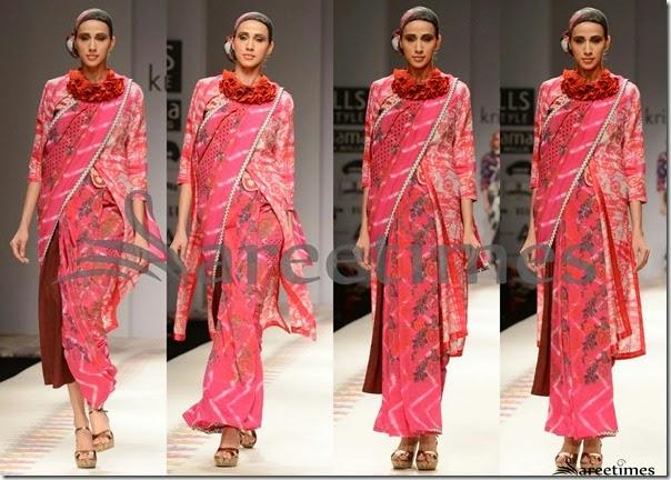 Krishna_Mehta_Pink_Saree