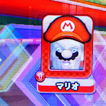 my profile picture during MarioKart DX arcade in Shibuya, Tokyo, Japan